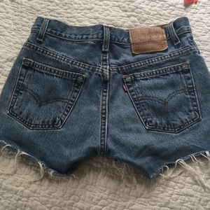 Women's denim Levi's shorts